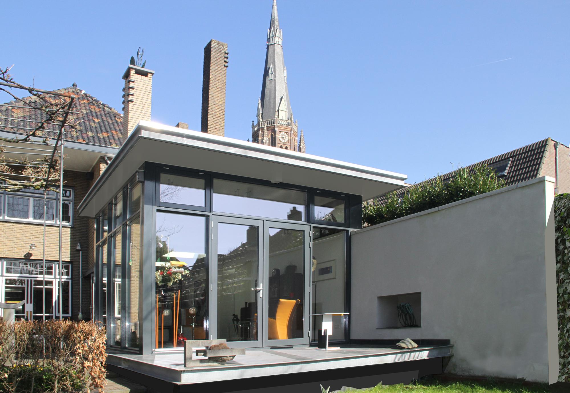 uitbreiding woonhuis Rijen